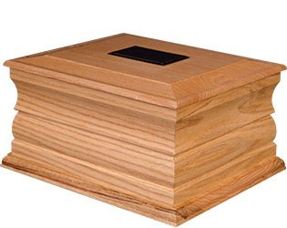 Wooden Casket - Oak